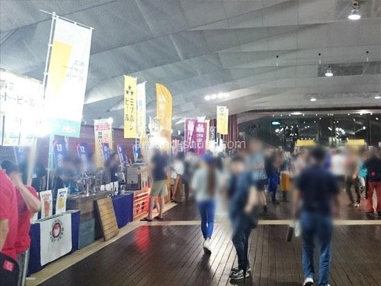 ビアフェス横浜2017 会場の様子