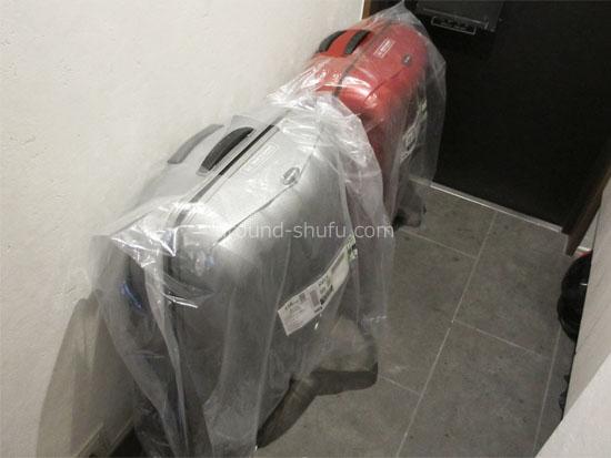 dmm スーツケース レンタル 到着