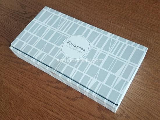 フィンレイソン 藍色美しい5種類の角皿セット 外箱