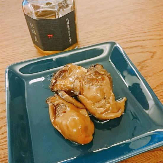 牡蠣屋のオイル漬け 宮島土産