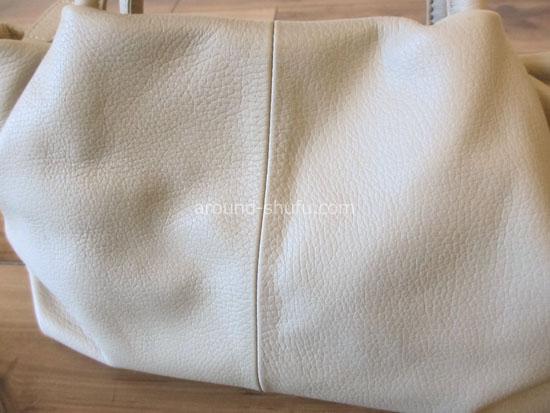 ミアボルサ 牛革 ハンドバッグ 素材