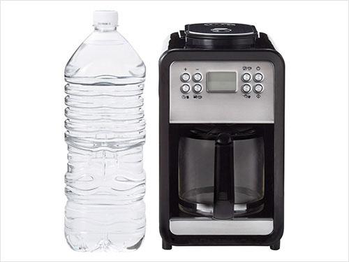 ミルカ コーヒーメーカー サイズ