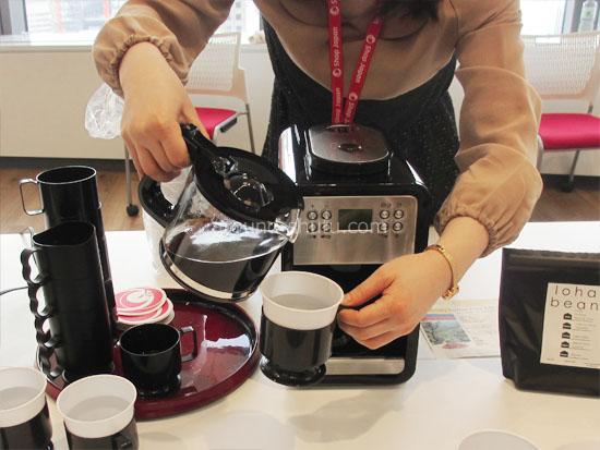 全自動コーヒーメーカー ミルカ