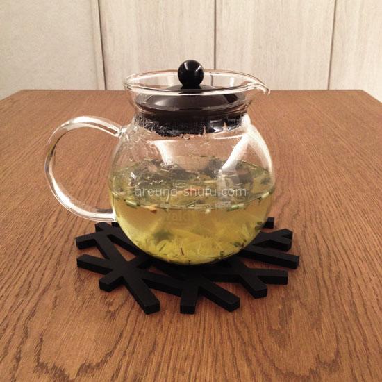 ティーポット+鍋敷き