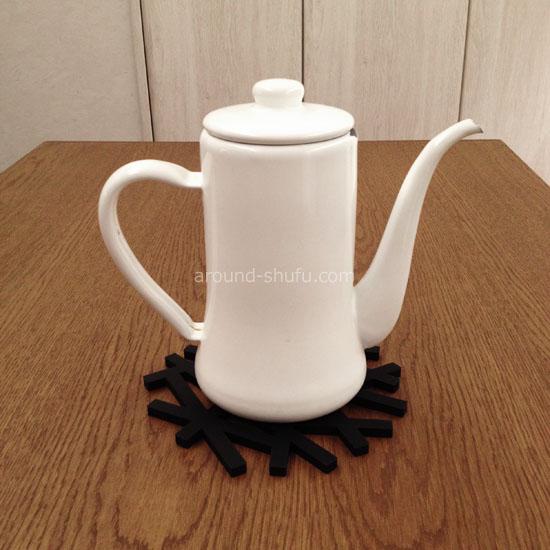 スリムポット(月兎印)+鍋敷き