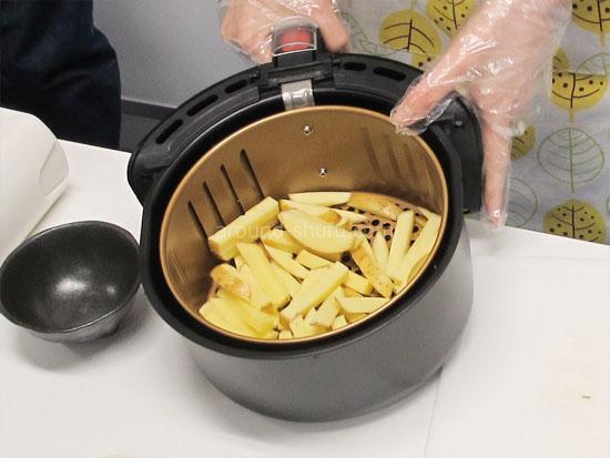 パワーマジックフライヤーXL 使い方 フライドポテト レシピ