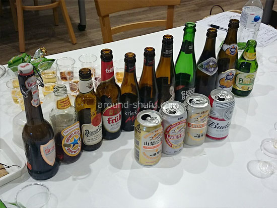 試飲できる14種類のビール