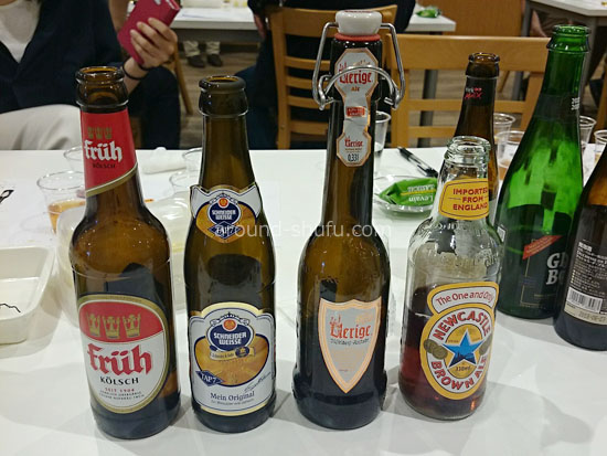 ドイツビール3種とイギリスビール